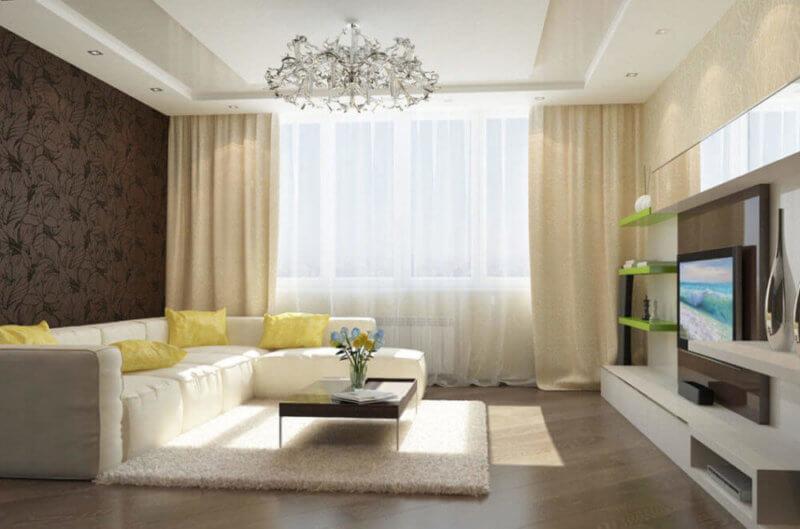 Ремонт квартир в новостройке на Позняках: Дизайн интерьера, фото