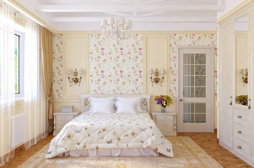 Дизайн интерьера квартиры в стиле Прованс в Киеве