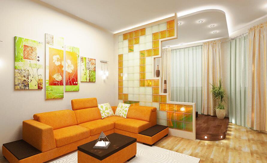 Дизайн однокомнатной квартиры в Киеве