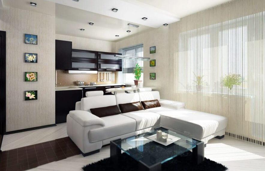 Дизайнерский ремонт квартир под ключ в Киеве