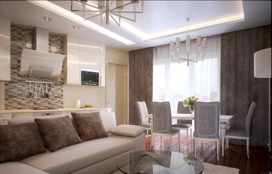 Ремонт квартир под ключ - цена в СПб с материалами за м2