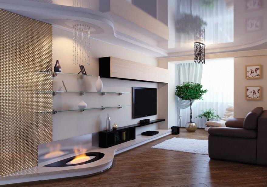 Интересные дизайнерские решения в интерьере квартиры