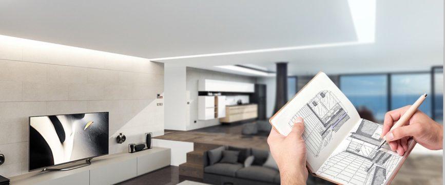 Строительная компания осуществляет дизайнерский ремонт квартир