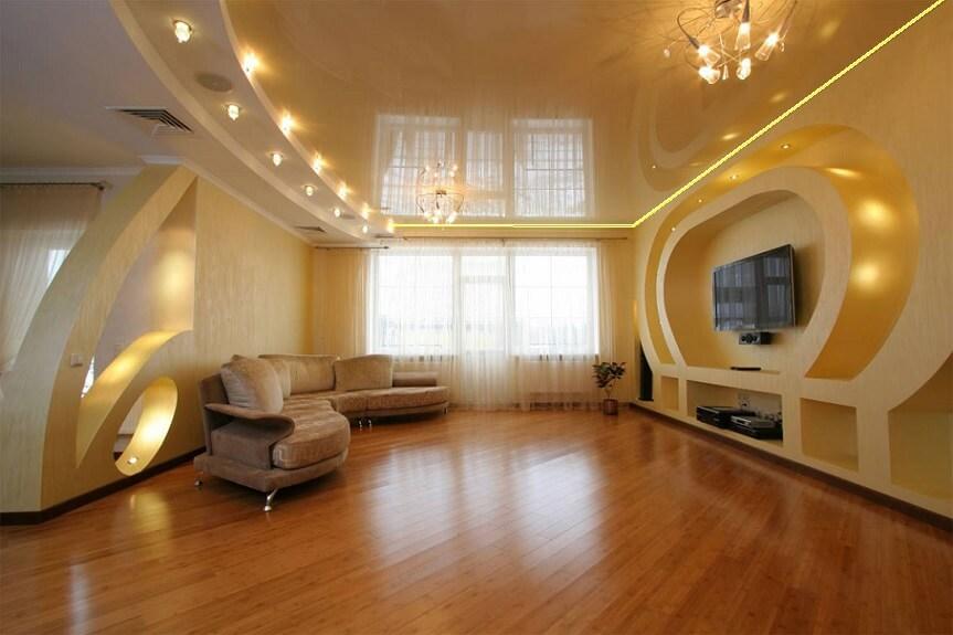 Дизайн освещения интерьера квартиры
