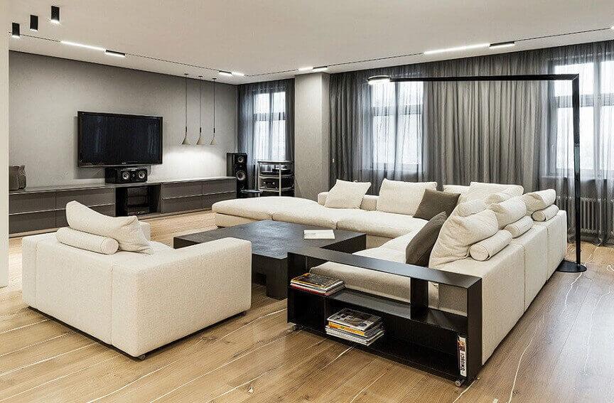 Отделка квартиры из гипсокартона