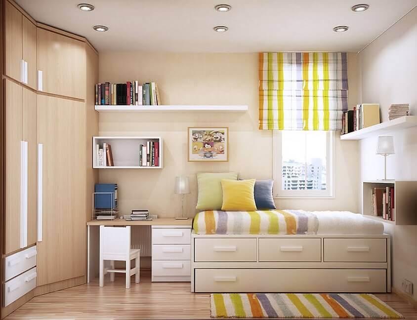 Дизайн интерьера детской комнаты 2018