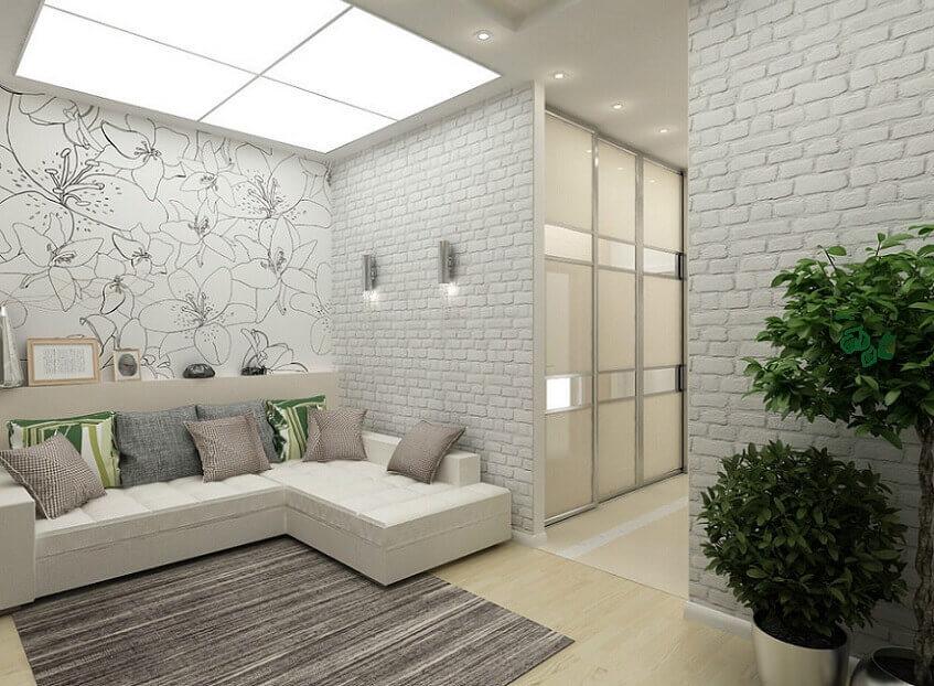 Ремонт однокомнатной квартиры 42 кв м 100 000 рублей в