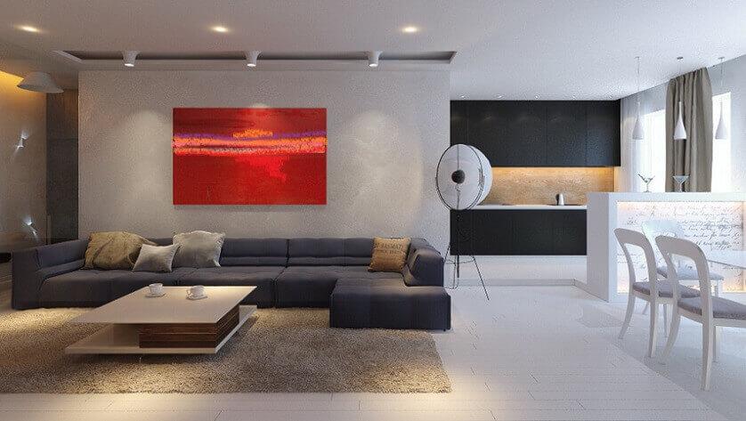 Ремонт новой квартиры в стиле минимализм