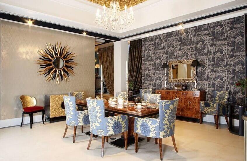 Стиль Ар-Деко в интерьере квартиры: кухня, спальня и гостиная