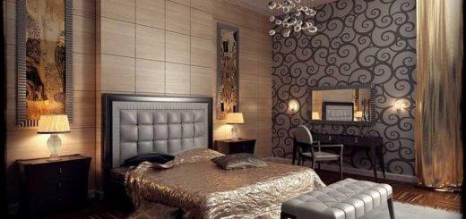 Стиль Ар-Деко: Дизайн интерьера квартиры